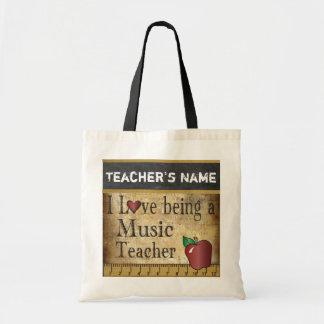 Tote Bag Amour étant un style vintage du professeur de