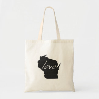 Tote Bag Amour le Wisconsin