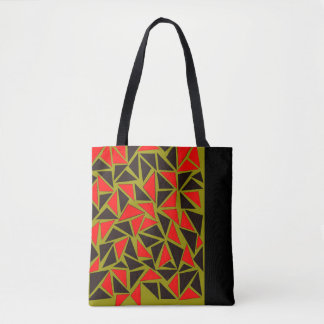 Tote Bag Amusement avec des triangles