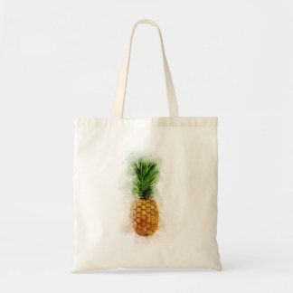 Tote Bag Ananas Aquarelle