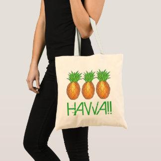 Tote Bag Ananas tropical Honolulu d'île hawaïenne d'Hawaï