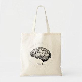 Tote Bag Anatomie de cerveau - employez-la