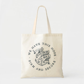 Tote Bag Ancre pour l'âme - 6h19 d'Hébreux