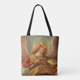 Tote Bag Ange de Noël jouant le violon Melozzo DA Forli