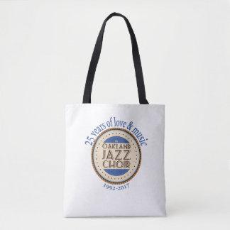 Tote Bag Anniversaire Fourre-tout de choeur de jazz