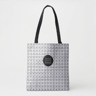Tote Bag Anthologie de copie d'une manière amusante d'art