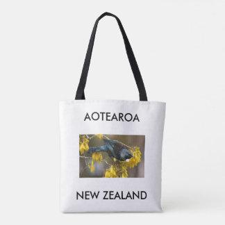 Tote Bag aotearoa Nouvelle Zélande Tui