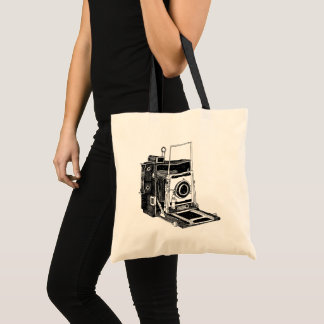 Tote Bag Appareil-photo vintage