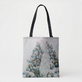 Tote Bag Arbre argenté de Milou d'oiseau