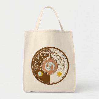Tote Bag Arbre de la vie avec le symbole de zodiaque de