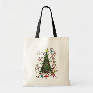 Tote Bag Arbre de Noël classique de Grinch |