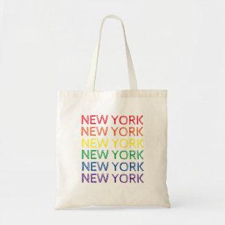 Tote Bag Arc-en-ciel Fourre-tout de fierté de New York City