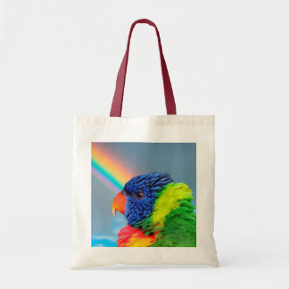 Tote Bag Arc-en-ciel Lorikeet