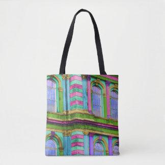Tote Bag Architecture française colorée