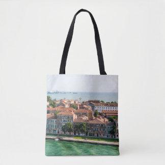 Tote Bag Architecture méditerranéenne de croisière de