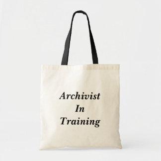 Tote Bag Archiviste en formant Fourre-tout