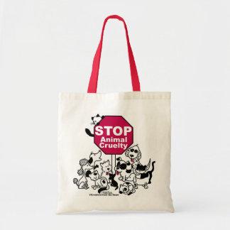 Tote Bag Arrêtez la cruauté animale