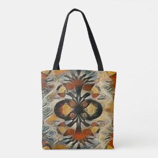 Tote Bag Art coloré de motif de Hmong