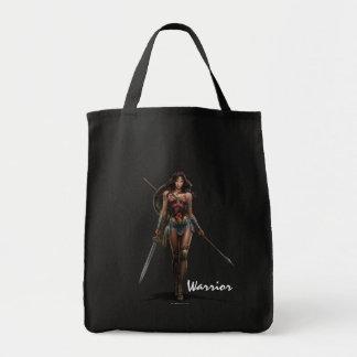Tote Bag Art comique Bataille-Prêt de femme de merveille