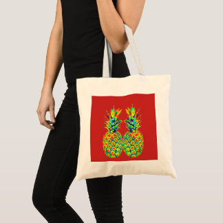 Tote Bag Art de bruit d'ananas