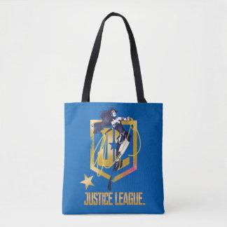 Tote Bag Art de bruit de logo de la femme de merveille de