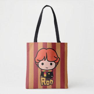 Tote Bag Art de personnage de dessin animé de Ron Weasley