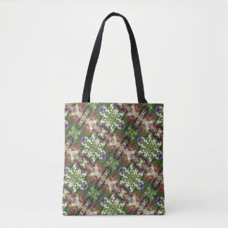 "Tote Bag Art de photo ""de champ de Zinnia"" -"