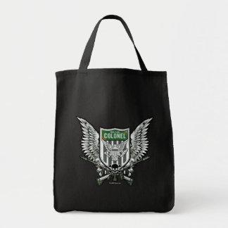 Tote Bag Art de tatouage de crête à ailes par drapeau du