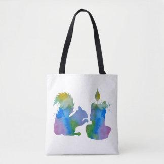 Tote Bag Art d'écureuil