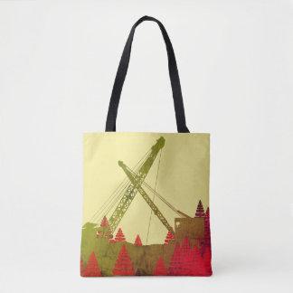 Tote Bag Art FONCTIONNANT d'INGÉNIEUR du nord-ouest de grue
