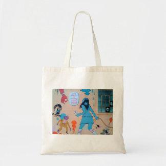 Tote Bag Art Fourre-tout de rue de la Californie