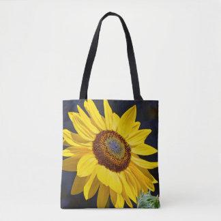 Tote Bag Art jaune de tournesol
