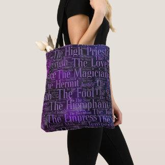 Tote Bag Art principal de mot d'Arcana de tarot