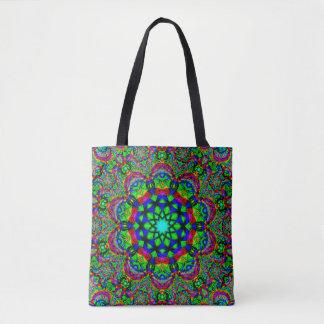 Tote Bag Art psychédélique de mandala