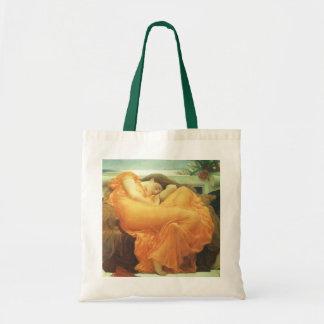 Tote Bag Art victorien vintage, flambant juin par Leighton