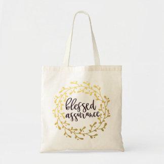 Tote Bag Assurance bénie Fourre-tout