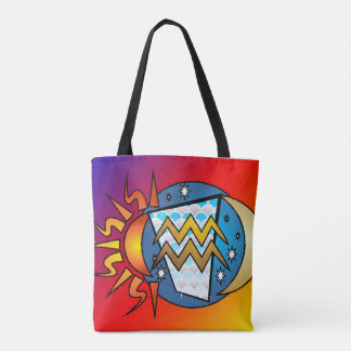 Tote Bag astrologie, Verseau