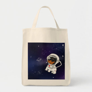 Tote Bag Astronaute minimum de Pin dans le magasin