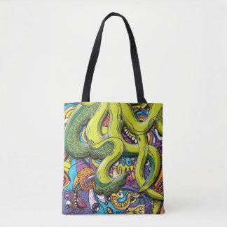 Tote Bag Attaque de poulpe