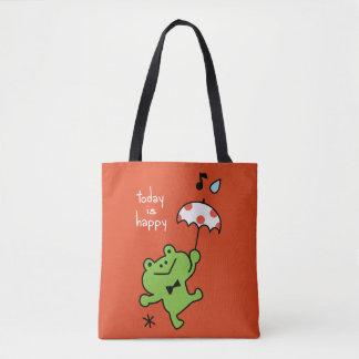 Tote Bag Aujourd'hui est heureux