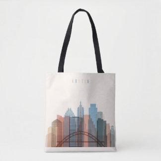 Tote Bag Austin, horizon de ville du Texas  