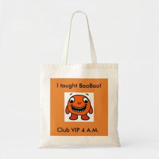 Tote Bag Avez-vous enseigné BaoBao ?