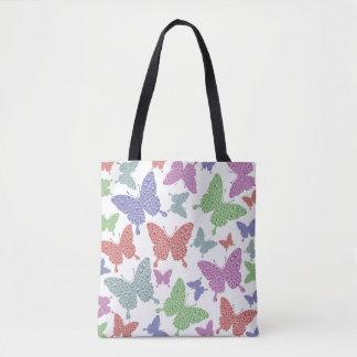 Tote Bag Baie saisonnière de Fourre-tout de papillons