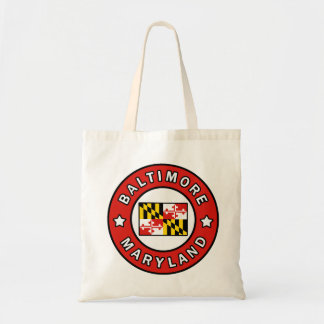 Tote Bag Baltimore le Maryland