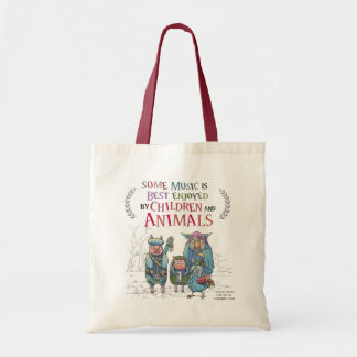 Tote Bag Bande animale fantastique