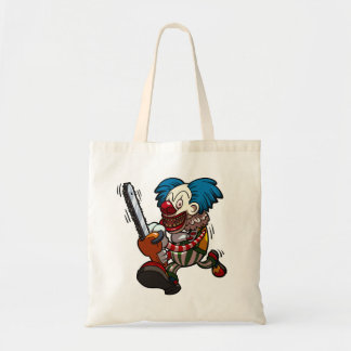 Tote Bag Bande dessinée colorée d'horreur de Halloween de