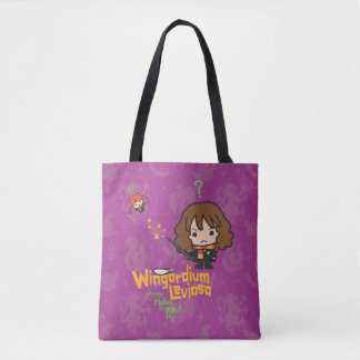 Tote Bag Bande dessinée Hermione et charme de Ron