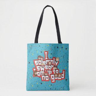 """Tote Bag Bande dessinée """"je jure solennellement"""" le"""
