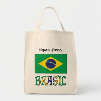 Tote Bag Bandeira font le Brésil e Brésil viennent o Nome