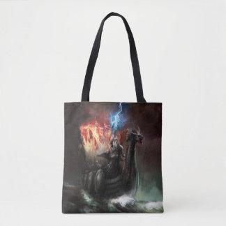 Tote Bag Bateau de Viking de dragon tout plus de - imprimez